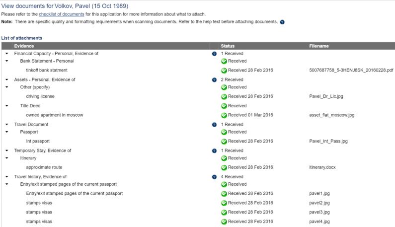 Список документов для австралийской визы