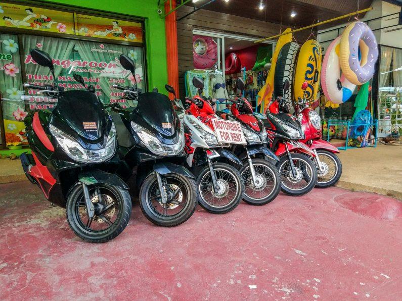 Скутеры для аренды на Пхукете