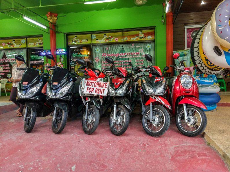 Скутеры для аренды на Самуи