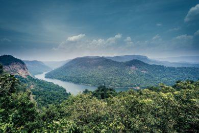 Вид по дороге Мурудешвар - Джог Фоллс