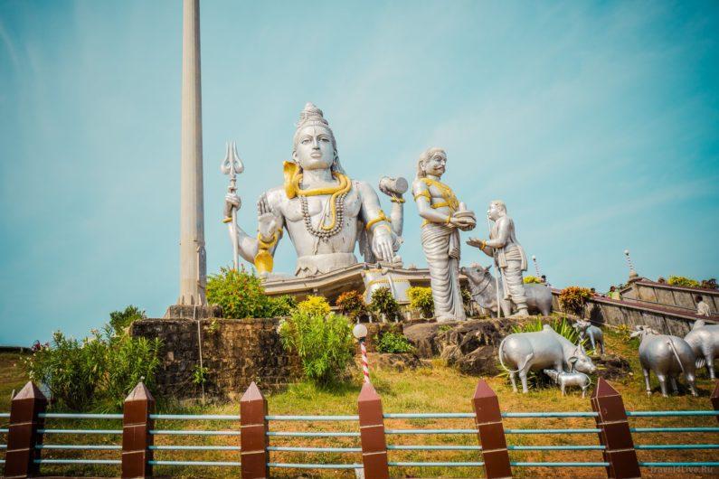 Статуя Шивы Мурдешвара
