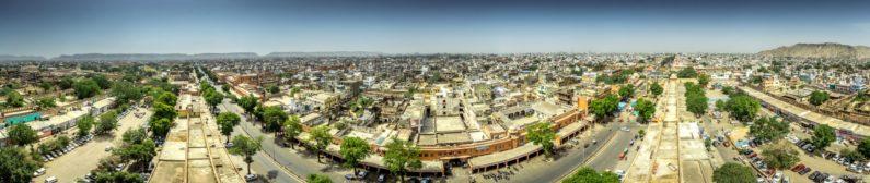 Панорама города Джайпур