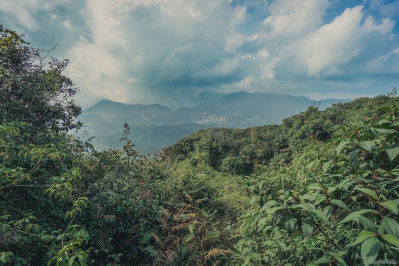 Вид с вершины одного из холмов