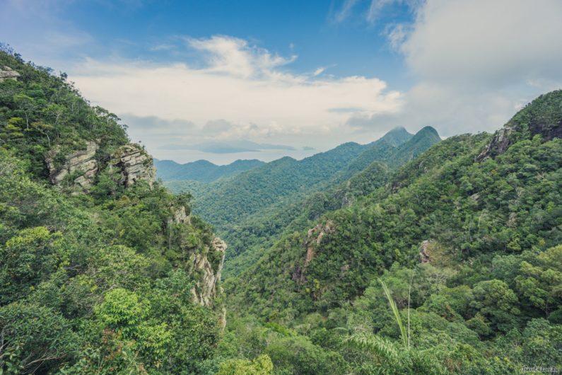 Вид с Небесного моста Лангкави