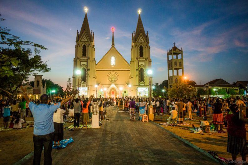 Католическая церковь в Негомбо