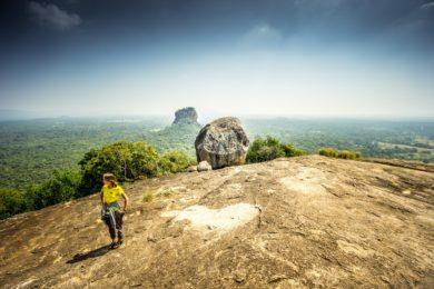 Вид с вершины горы Пидурангала, Шри-Ланка