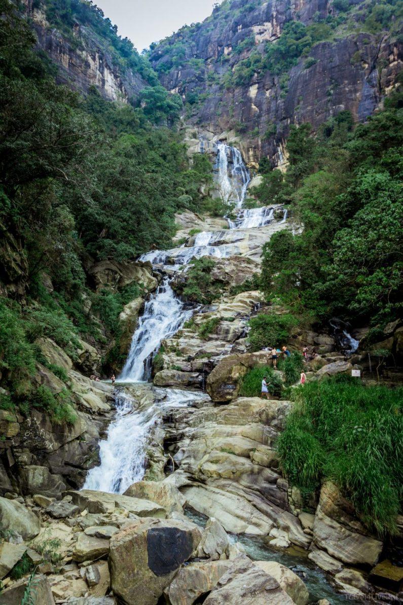 Водопад Равана, рядом с Эллой