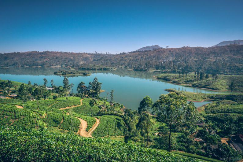 Добраться до Пика Адама на карте Шри Ланки.