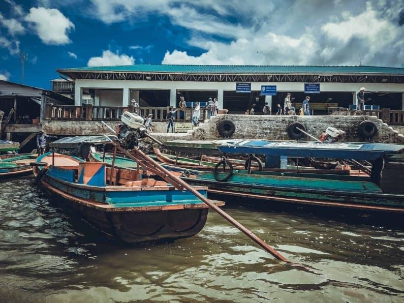 Лодка до Бирмы из Ранонга